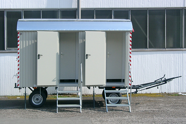 WEIRO® Toilet Trailer